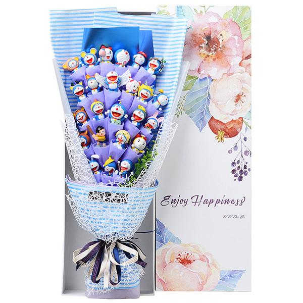 ช่อดอกไม้โมเดลโดราเอมอน 24 ตัว(แบบที่ 1)