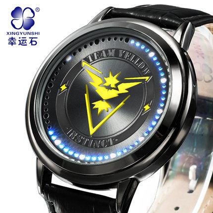 นาฬิกาจอสัมผัส LED Pokemon (ทีมสีเหลือง)**ของแท้**