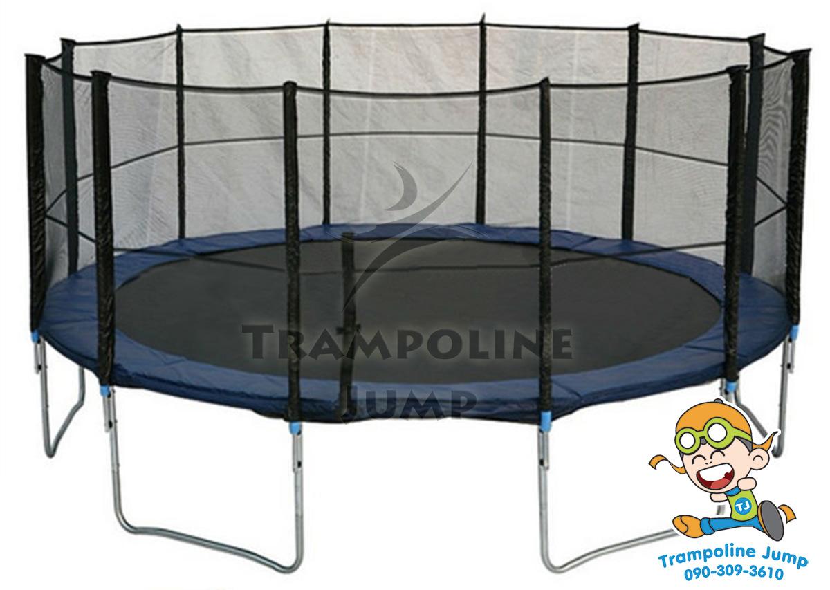 สปริงบอร์ดแทรมโพลีน trampoline 16 ฟุต ขนาดใหญ่สุด รับน้ำหนักได้ 180 kg