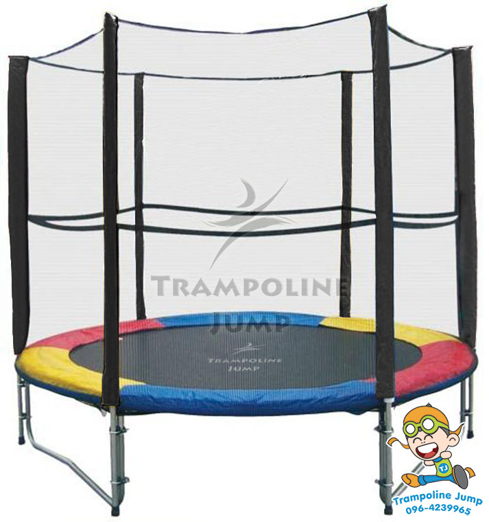 8 colorful trampoline. Black Bedroom Furniture Sets. Home Design Ideas