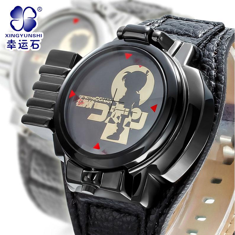 นาฬิกาจอสัมผัส LED เลเซอร์โคนันสีดำ(ของแท้)