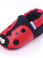 รองเท้าเด็กอ่อน 0-12เดือน รองเท้าเด็กชาย เด็กหญิง ลายเต่าทองสีแดง