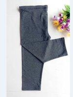เลกกิ้งคนท้อง ขา5ส่วน สีเทาดำเรียบๆไม่มีลวดลาย เอวปรับสายได้ค่ะ (XLเหมาะกับคุณแม่ไซส์ใหญ่ค่ะ)