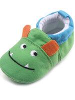 รองเท้าเด็กอ่อน 0-12เดือน รองเท้าเด็กชาย เด็กหญิง ลายการ์ตูน ยักษ์เขียว