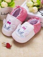 รองเท้าเด็กอ่อน 0-12เดือน รองเท้าเด็กชาย เด็กหญิง ลายการ์ตูน แมวน้อย