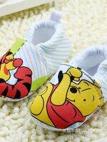 รองเท้าเด็กอ่อน 0-12เดือน รองเท้าเด็กชาย เด็กหญิง ลายการ์ตูน หมีพูห์ กับ ทิกเกอร์