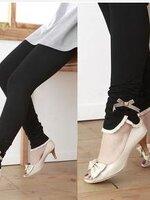 กางเกงเลกกิ้ง ขายาว สีดำ มีโบว์ มีสายปรับระดับได้ ผ้านิ่ม ยืด ใส่สบายน่ารักมากๆค่ะ