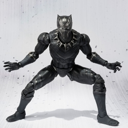 SHF Figure Black Panther (ลิขสิทธิ์แท้ Bandai)