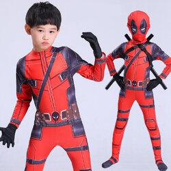 ชุดคอสเพลย์ Deadpool (เด็กและผู้ใหญ่)