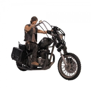 Daryl Dixon with Chopper Deluxe Box Set McFarlane (ของแท้)