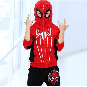 ชุด Spiderman สำหรับเด็ก (มีให้เลือก 2 แบบ)