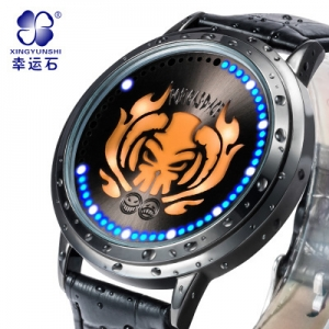 นาฬิกาข้อมือจอสัมผัส LED ONEPIECE วันพีช (สัญลักษณ์เอส)**ของแท้ลิขสิทธิ์**
