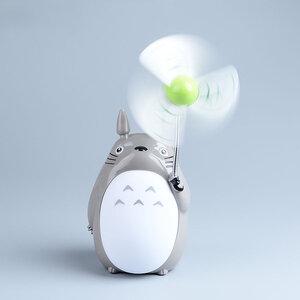 พัดลมโคมไฟตั้งโต๊ะ USB Totoro รุ่นที่ 2