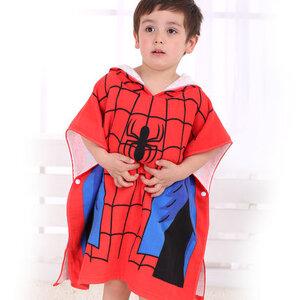 ผ้าคลุมอาบน้ำ Spider-Man (สำหรับเด็ก)