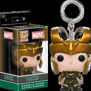Pocket POP! Keychain - MARVEL - Loki (ของแท้)