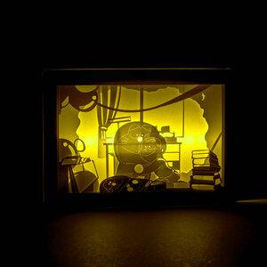 กรอบรูปโคมไฟ Doraemon (มีให้เลือก 2 แบบ)