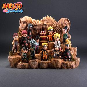 Naruto & Diorama หน้าผาโฮคาเงะ (มีให้เลือก 9 ชุด )
