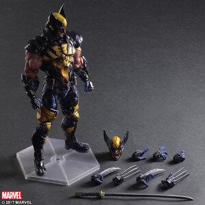 Play Arts - Marvel - Wolverine Figure