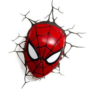 โคมไฟติดผนัง 3D Spider Man ส่วนหัว (ของแท้ลิขสิทธิ์)