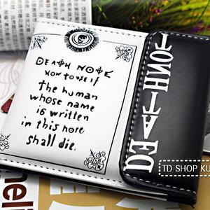 กระเป๋าสตางค์เดทโน๊ต Death Note (รุ่นที่ V.1)