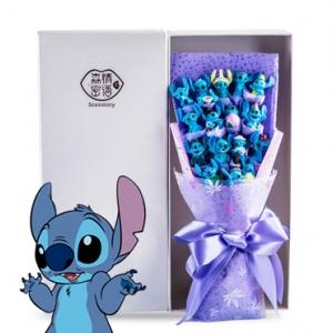 ช่อดอกไม้โมเดลสติช Stitch (มีให้เลือก 8 แบบ)
