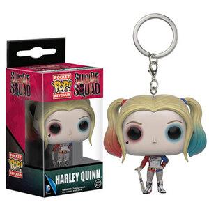 Pocket Pop! Keychain - Suicide Squad - Harley Quinn (ของแท้)