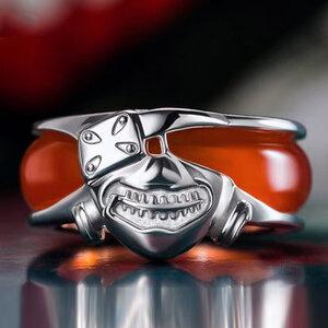 แหวนสร้อยคอโตเกียวกลู Tokyo Ghou (เงินแท้)