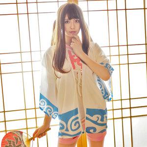 เสื้อคลุมคอลเพลย์/กางเกงสตอเบอรี่ กินทามะ Gintama Sakata