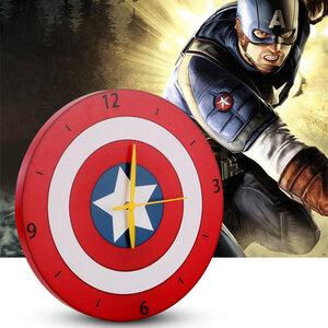 นาฬิกาผนัง กัปตันอเมริกา Captain America DIY(ลิขสิทธิ์แท้)
