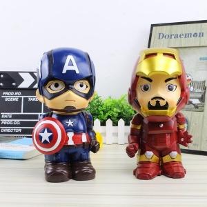 กระปุกออมสิน Captain America & Iron Man (มีให้เลือก 2 แบบ)