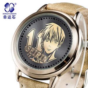 นาฬิกา LED จอสัมผัส Kuroko No Basket คุโรโกะ โนะ บาสเก็ต(สีทอง) **มีให้เลือก 7 แบบ**