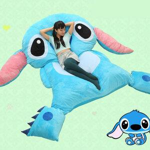 ที่นอนตุ๊กตา Stitch(ตัวใหญ่)