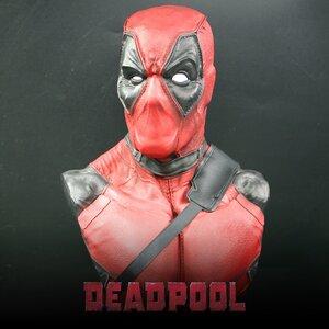 Model Deadpool งานเรซิ่นครึ่งตัว