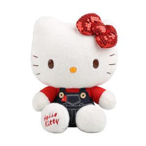 ตุ๊กตา Hello Kitty ชุดแดง (ของแท้ลิขสิทธิ์)