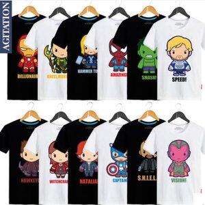 เสื้อ Marvel - The Avengers (มีให้เลือก 24 แบบ)