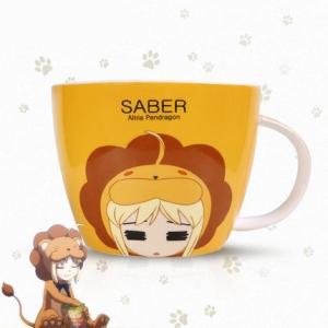 แก้วน้ำ Fate stay night (Saber)