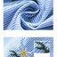 เดรสคลุมท้องสีฟ้าลายเส้นขาว ปักลายดอกเก๊กฮวย ชายกระโปรงบาน มีสายผูกหลัง เป็นผ้าคอตตอลไม่หนาไม่บางกำลังดี งานดี ผ้านิ่มรีดง่าย ใส่สบายมากค่ะ thumbnail 10