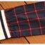 เสื้อทรงญี่ปุ่น สีกรมท่าแขนยาว ตัดเส้นลายตารางสีแดง คอบัวมีสายผูกโบว์ที่คอ น่ารักมากๆค่ะ thumbnail 5