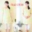 เสื้อคลุมท้องสีเหลืองอ่อน มีประดับสร้อยมุกที่คอ น่ารักมากๆค่ะ thumbnail 9