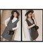 เซ็ตเอี้ยม เสื้อยืดสีขาวแขนยาว + เอี้ยมเทาดำ มีกระเป๋าหน้าสองข้าง ผ้าหนา งานดี น่ารักมากๆค่ะ thumbnail 6