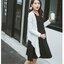 เซ็ตเดรสคลุมท้อง เดรสแขนสั้นสีดำ + เสื้อคลุมแขนยาวสีขาว ชายเสื้อยาว ผ้านิ่ม งานสวย ผ้านิ่ม ใส่สบาย น่ารักมากๆค่ะ(เหมาะกับคุณแม่ตัวเล็กค่ะ) thumbnail 5
