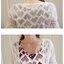 ชุดเซ็ตคลุมท้อง เดรสแขนกุดพิมพ์ลายมีสายรูดผูกเอว มีกระเป๋ากระโปรง + เสื้อคลุมสีขาวเอวลอยผ้ายืดซีทรู เข้ากัน น่ารักมากๆค่ะ thumbnail 10