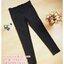 กางเกงทำงานขาเดฟสีดำ ผ้ายืดมีกระดุมดำด้าน 2 เม็ดตรงกระเป๋า ผ้านิ่มใส่สบายค่ะ เอวปรับระดับได้ตามอายุครรภ์ size XL thumbnail 1