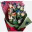 ช่อดอกไม้โมเดลการ์ตูนโทโทโร่(แบบที่ 2) thumbnail 2