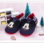 รองเท้าเด็กอ่อน 0-12เดือน รองเท้าเด็กชาย เด็กหญิง ลายการ์ตูน มิกกี้เมาส์ สีกรม thumbnail 1