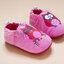 รองเท้าเด็กอ่อน 0-12เดือน รองเท้าเด็กชาย เด็กหญิง สีชมพูลายนกฮูก thumbnail 5