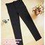 กางเกงทำงานขาเดฟสีดำ ผ้ายืดมีกระดุมดำด้าน 1 เม็ดในสามเหลียมตรงมุมบนกระเป๋า ผ้านิ่มใส่สบายค่ะ เอวปรับระดับได้ตามอายุครรภ์ thumbnail 1