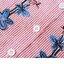 เดรสคลุมท้องแขนยาวสีแดงลายเส้นขาว ปักช่อดอกไม้ที่อก กระดุมหน้าแกะได้ มีสายรูดผูกเอว ผ้านิ่มใส่สบาย น่ารักมากๆค่ะ thumbnail 5