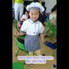 ชุดพ่อครัว ชุดแม่ครัว ชุดเชฟ ชุดChef แขนสั้นสีขาว ใช้งานได้จริง ใช้ได้ทั้งเด็กชายและเด็กหญิง (เสื้อสีขาว+หมวก+ผ้ากันเปื้อน ) มีขนาดสำหรับ 90-150 ซม.