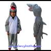 ชุดปลาฉลาม Shark ชุดแฟนซีสัตว์เด็กหรือชุดมาสคอต สำหรับการแสดง ใช้ได้ทั้งเด็กชายหญิง มี ขนาด XL